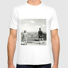 Look After Mens Fitted Tee White SMALL