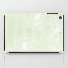 Dandelions in Mint by Friztin iPad Case