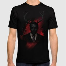 Hannibal Wendigo Mens Fitted Tee Black SMALL