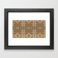 Five Spices Framed Art Print