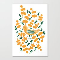 Birdie Bird Canvas Print
