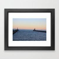 Goodnight Duluth Framed Art Print
