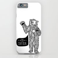 iPhone & iPod Case featuring Scary Bear 2 by Anne Crittenden
