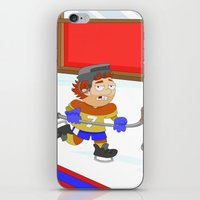 Winter Sports: Ice Hockey iPhone & iPod Skin