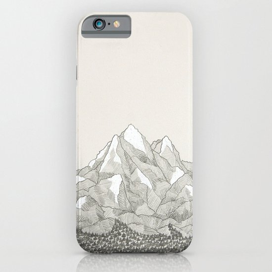 The Mountains and the Woods iPhone & iPod Case