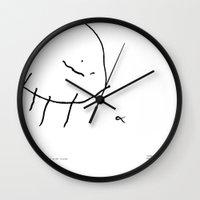 [spider with food] - nadya 3 yr Wall Clock