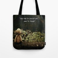 Paws For Thought Tote Bag