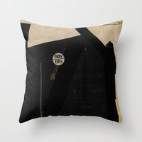 About #2 Throw Pillow