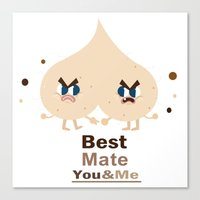 Best Mate -you And Me Canvas Print