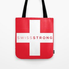 Swiss Strong Tote Bag