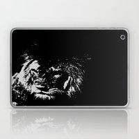 Lion Stencilled Laptop & iPad Skin