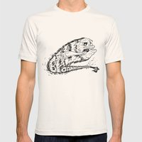 CannonBall (Black&White) Mens Fitted Tee Natural SMALL