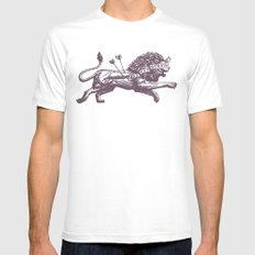 Be Not Afraid SMALL Mens Fitted Tee White