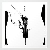 Gun #2 Art Print