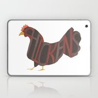 Chickens Typography Laptop & iPad Skin