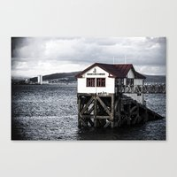 The Old Boathouse. Canvas Print