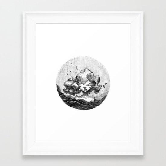 Lacrymosa Framed Art Print