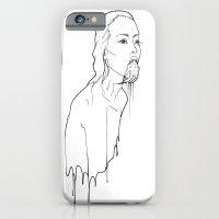 Ink Possessed Melting Girl iPhone 6 Slim Case