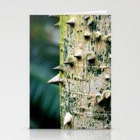 Thorny tree Botanical Photography Stationery Cards