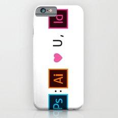 Designer's Valentine's Card iPhone 6 Slim Case