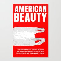 American Beauty Movie Poster Canvas Print