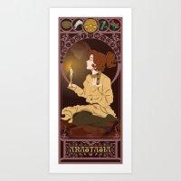 Anastasia Nouveau - Anastasia Art Print