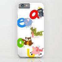 Vowels iPhone 6 Slim Case
