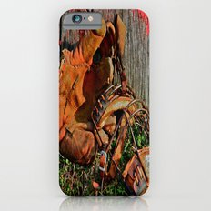 Old School Baseball iPhone 6s Slim Case
