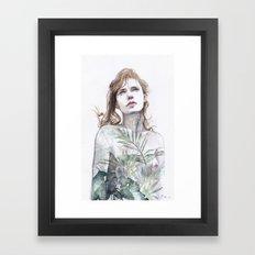 Breathe In, Breathe Out Framed Art Print