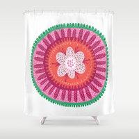 Suzani II Shower Curtain