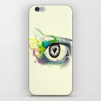 I heart U iPhone & iPod Skin