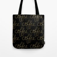 Coffee Dots Tote Bag