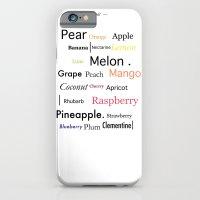 Fruit in Colour iPhone 6 Slim Case