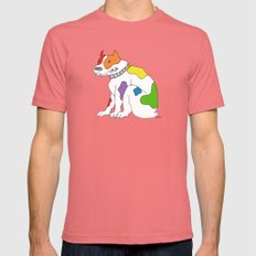 PRRRRRide! Mens Fitted Tee Pomegranate SMALL