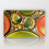 Bubble Abstract With Ora… Laptop & iPad Skin