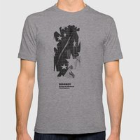 shooting for the stars Mens Fitted Tee Athletic Grey SMALL