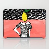 Lemon Head iPad Case