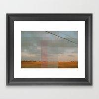 Gutter Field Fantasy Framed Art Print