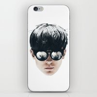 Sea Boy Portrait iPhone & iPod Skin
