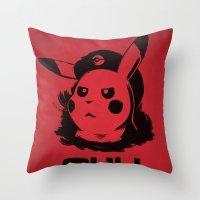 ¡Viva La Evolución! Throw Pillow