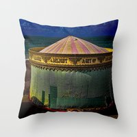 Closed For The Season Throw Pillow