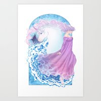 Last Unicorn Art Print