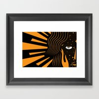 Her Beloved is Radiant Framed Art Print