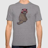 Cat Style Mens Fitted Tee Athletic Grey SMALL