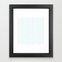 Drip Drop Framed Art Print