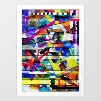 Organized Chaos Art Print