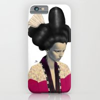 iPhone & iPod Case featuring Geisha by Albert Lee
