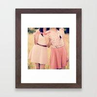 She Is My Best Friend!  Framed Art Print