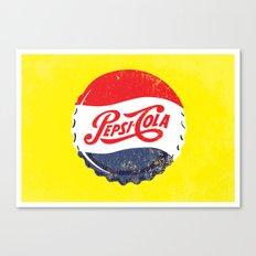 Vintage Pepsi Canvas Print