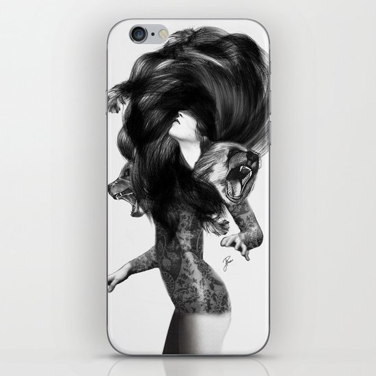 Bear #3 iPhone & iPod Skin
